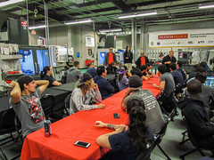 2019-11-21-MK-Friendsgiving-042 (valencia_pcephotos) Tags: manufacturing welding cncmachining mechatronics electronicboardassembly thanksgiving