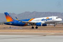 Allegiant A320 N251NV (KoryC757) Tags: phoenix airbus gateway mesa a320 aza iwa allegiantair n251nv