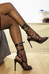 Sexy evening (Ysée de France) Tags: longlegs stilettos sexy sexygirl sexyebony sexyshoes sexymodel tights fishnets highheels romanticdomina romantic sensualistic