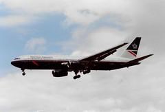 Photo of G-BNWC Boeing 767-336/ER cn 24335 ln 284 British Airways 13Jun91