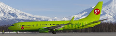 VQ-BRQ S7 - Siberia Airlines Boeing 737-800 (Zhuravlev Nikita) Tags: spotting elizovo kamchatka uhpp pkc boeing 737 b737 s7