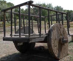 Wagon at Martinez Hacienda (jimbowen0306) Tags: martinezhacienda haciendadelosmartinez antonioseverinomartinez donantonioseverinomartinez wagon wagons taos taosnm newmexico nm america unitedstates us olympuse3 olympus e3 museum museums musea