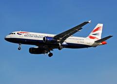 Photo of G-EUYE BA A320