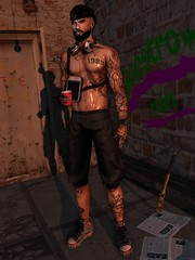 ☠ GUETTO (Shock Q'Kell) Tags: lelutka guy signature head bento msh gianni mesh body empowered backdrop modulus hair slhair event equal10 speakeasy tattoo sltattoo kunst cigarette lapointebastchild lb swallow ears mancave sparrow magnificent meva tmd bloggers slbloggers photo slphoto moda slmoda style fashion store mainstore kai
