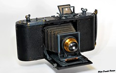 No. 1A Speed Kodak. (Test Nikon D 60) (donaldpoirier93@yahoo.fr) Tags: no1aspeedkodak appareilphoto antique antiquecamera kamera kodak speedkodak film116 collector collectionneur collection camera collectiondappareilsphoto collectiondecameras caméra fondblanc folding foldingcamera bellows nikond60 n°803 cooke soufflet vintagecameracollection vintagecamera eastmankodakco eastman obturateurarideau testd60