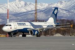 VP-BDN Aurora Airbus A319-100 (Zhuravlev Nikita) Tags: spotting elizovo kamchatka uhpp pkc airbus aurora flyaurora a319 319