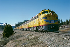 UP 960 East at Blairsden, CA (thechief500) Tags: featherriverroute railroads up wp blairsden ca usa westernpacific