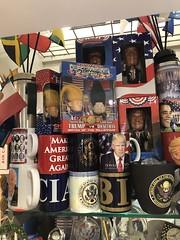 Trump vs. Rocketman, souvenirs at Dulles Airport Terminal B near Washington, D.C. (Paul McClure DC) Tags: washingtondc nov2019 dulles airport shop loudouncounty virginia chantilly