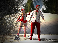 Reina Photography {RP} FR0026 (LillyLica) Tags: secondlife sl avatar virtualworld fashion outfit backdrop snow play fun friendly
