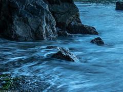 Moving Water (Ramona H) Tags: bowmanbay deceptionpassstatepark fidalgoisland flow hiking longexposure morning water