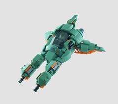 "VVRK-8 ""Wrecker"" (optimus-convoy) Tags: lego space vic viper konami gradius spaceship swoosh"
