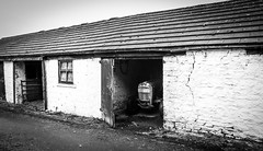 Langdon Beck . (wayman2011) Tags: canon5d colinhart lightroom5 wayman2011 bw mono rural farms farmbuildings tractors pennines dales teesdale harwood countydurham uk