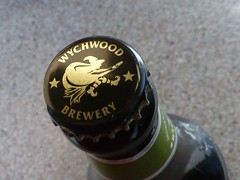 weaving a spell (quietpurplehaze07) Tags: lookingcloseonfriday magical bottle brewery wychwood witch broomstick