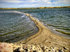 Serenity (wjaachau) Tags: serenity cherrycreekstatepark colorado landscape lake park river waves clouds sky scenic scenery