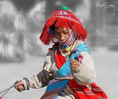Boy's Wititi dance costume (marko.erman) Tags: colca valley river yanque village wititi dance folk traditional tradition dressing bridal parades portrait colorfull sony outside sunny peru latinamerica southamerica boy costume