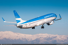 [SCL.2017] #Aerolineas.Argentinas #AR #ARG #Boeing #B737 #LV-FUC #awp (CHRISTELER / AeroWorldpictures Team) Tags: aerolineasargentinas ar arg airliner msn413475169 cfmi cfm56 lvfuc alc southamerica argentine argentina plane aircraft airplane avion takeoff andes santiago de chili scl scel airport planespotting spotting spotter christeler aeroworldpictures awp team 2017 avgeek aviation photography nikon d300s nikkor 70300vr