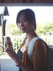 (imnOthere0) Tags: woman icecream