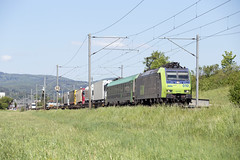 BLS Re 485 010 Sissach (daveymills37886) Tags: bls re 485 010 sissach baureihe bombardier traxx ac1