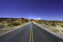 Campground Road in Valley of Fire State Park - Nevada - USA (R.Smrekar) Tags: 2019 usa road landscape nikon nevada z7 smrekar 000500