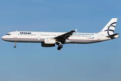 Aegean Airlines A321-231 SX-DVP (wapo84) Tags: ebbr bru a321 aegean sxdvp