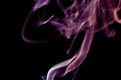 Magical (AuntNett) Tags: nikon d7200 macro smoke purple spooky