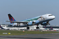 OO-SNE Airbus A320-214 EBBR 13-05-19 (MarkP51) Tags: oosne airbus a320214 a320 brusselsairlines sn bel bruegel special colours brussels zavatem airport bru ebbr belgium airliner aircraft airplane plane image markp51 nikon d500 nikonafp70300fx sunshine sunny