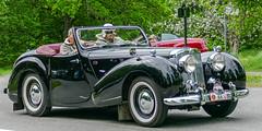 1948 Triumph 1800 Roadster (Gösta Knochenhauer) Tags: 2016 may stockholm sverige sweden capital djurgården gärdesloppet prins bertil memorial car veteran panasonic lumix fz1000 dmcfz1000 schweden suède svezia suecia classic leica lens p9040820nik p9040820 nik