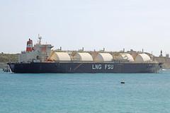 Armada LNG Mediterrana (Roy Lowry) Tags: delimara marsaxlokk armadalngmediterrana tanker