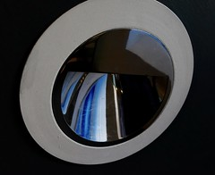 Light fitting in a stairwell in the Gallery of Modern Art, Glasgow. (Allan Rostron) Tags: