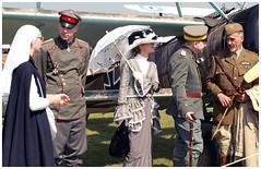 Reenactors. (Aerofossile2012) Tags: people reenactors reconstituants laferté meeting airshow 2018 uniform uniformes