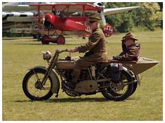 Reenactors (Aerofossile2012) Tags: motorcycle moto harleydavidson laferté 1418 ww1 wwi alliés allied uniforme uniform reenactors reconstituants people