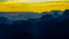 Layers of Light (David Hamments) Tags: buttes grandcanyonnationalpark layers arizona panorama sunset silhouette route66