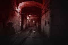 Stranger things (Missing Pictures) Tags: europe mysterious fear scary military old forgotten mood traveling travel industrial mystery shadows lost story urbex stranger atmospheric atmosphere gates underground red mystic secret abandoned darkside darkness dark things strangerthings inside