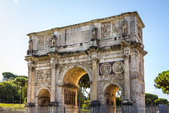 Italy - Rome - Arch of Constantine (Marcial Bernabeu) Tags: marcial bernabeu bernabéu europe europa italia italy rome roma lacio arch arco history historia constantine constantino triumphal triunfal victory victoria marc