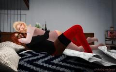 Good Night Cuddle (Aida Lundquist) Tags: secondlife goodnight