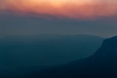 Hazed (benpearse) Tags: ben pearse photography blue mountains professional australian nsw photographer begrimed bushfire smoke smokey haze katoomba landscape jamison valley hazard reduction november 2019 fire season moody twilight gospers mountain wollemi drifting drift choking hazed hazey