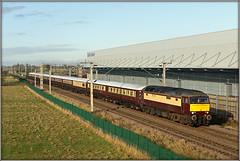57601, Barby Nortoft (Jason 87030) Tags: wcml loop northampton northants northamptonshire lineside ts location barbynortoft 1z37 57601 westcoastrailways bodysnatcher invasion loco engine gm diesel tren train