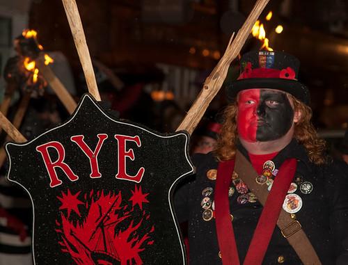 Rye bonfire pageant