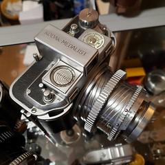 Kodak Medalist, post war model (DJ Witty) Tags: medalist kodak mediumformat film 620