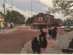 Kensington Market BIA proposed plans for street makeover