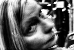 Welcome to Fabulous Las Vegas - 6 of 21 (draketoulouse) Tags: las vegas lasvegas city night street streetphotography people woman monochrome blackandwhite bus faces