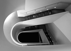 The Wright Way Up (Robin Wechsler) Tags: franklloydwright architecture architect stairs marincountyciviccenter wright interior designer abstract