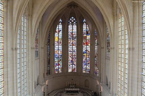Château de Vincennes : la nef de la Sainte-Chapelle