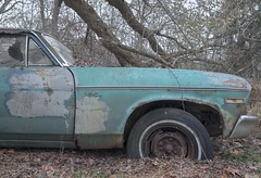 Supernova. (Ewski Images) Tags: sony chevrolet chevy nova rustbucket junkyard exploration explore vintage antique classic car abandoned decay
