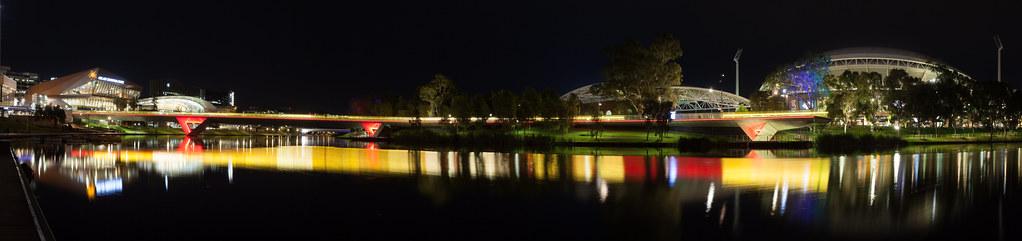 Image result for adelaide skyline lights from the torrens
