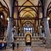 Inside the Frari Church