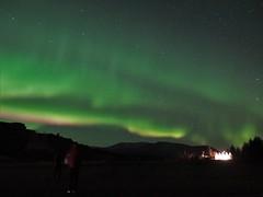 25.10.19 In a storm (Dagnystef) Tags: northernlights norðurljós polar lights iceland þingvellir night big dipper