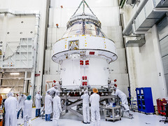 Orion on the move (europeanspaceagency) Tags: esa europeanspaceagency space universe cosmos spacescience science spacetechnology tech technology orion orionservicemodule nasa