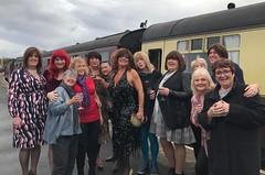 ELR November 2019 (janegeetgirl2) Tags: transvestite crossdresser crossdressing tgirl tv ts trans jane gee east lancs railway outside