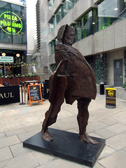 Sculpture on the Streets of the City of London, 6th August 2019 (1) (Phil Masters) Tags: london 6thaugust august2019 sculpture streetart cityoflondon
